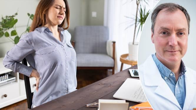 Ook zoveel last van je rug en nek tijdens het telewerken? Experts leggen uit hoe je een hernia voorkomt en geneest