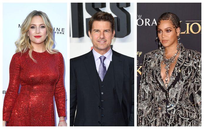 Kate Hudson, Tom Cruise en Beyoncé zijn niet bepaald geliefd bij de Hollywoodjournalisten