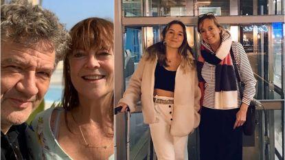 SHOWBITS. Bart Peeters op welverdiende vakantie en An Swartenbroekx zwaait haar dochter uit