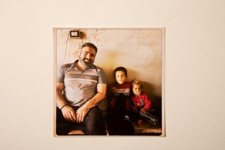 In Homs, Syrië, waar Sinan opnames maakte voor de documentaire In het spoor van IS.  Beeld Privé-archief