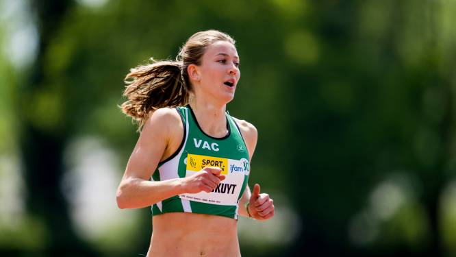 Paulien Couckuyt evenaart 25 jaar oud Belgisch record op 400 meter horden