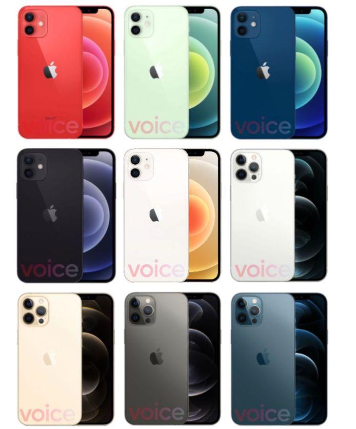 9to5Mac: de kleuren.