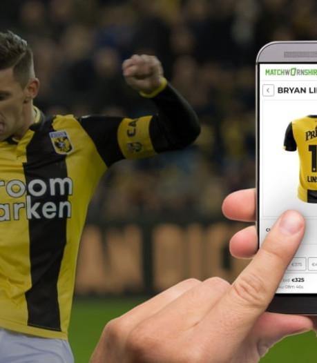Shirts van Vitessespelers geveild tijdens Vitesse-Feyenoord