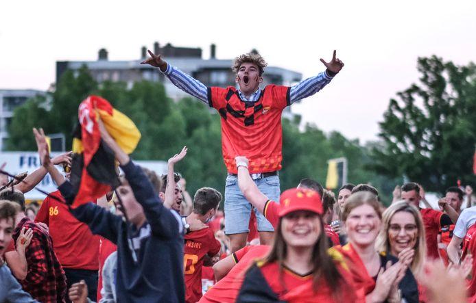 EK - Voetbal België - Italie