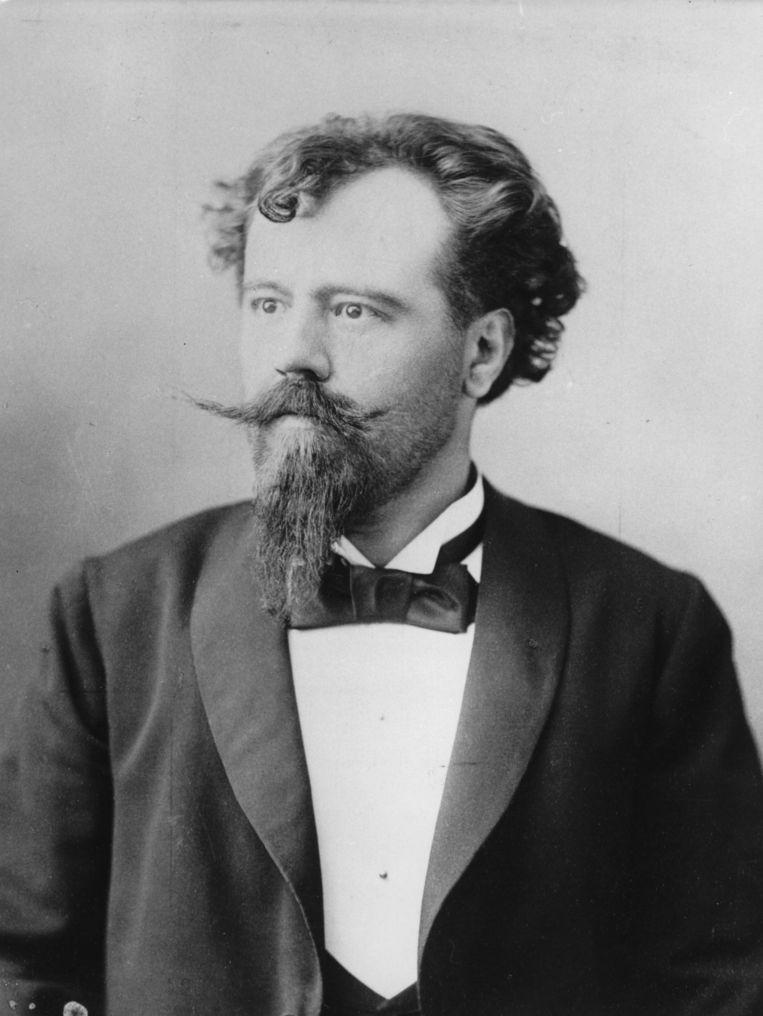 Hermann Bahr, circa 1898. Beeld Ullstein Bild / Getty Images