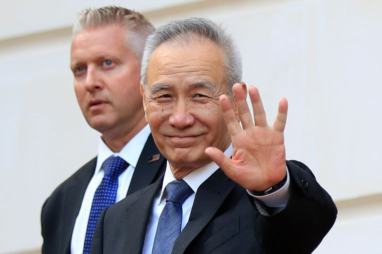 De Chinese toponderhandelaar en vicepremier Liu He.
