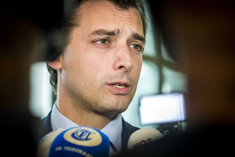 Thierry Baudet, landelijk leider van Forum voor Democratie. Beeld ANP