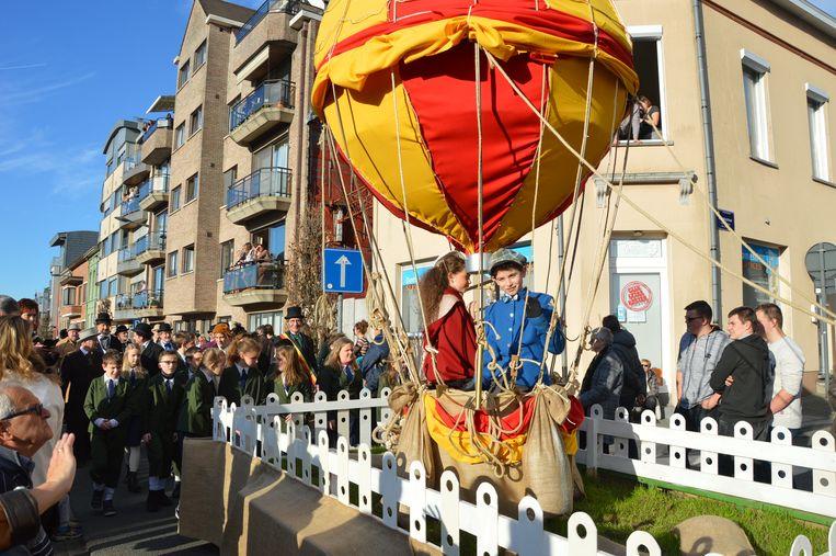 Opstijging luchtballon op 26 augustus 1894.