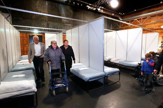 Foto ter illustratie: in voormalig jongerencentrum M3 in Leerdam werd eerder en noodopvang voor asielzoekers gerealiseerd.
