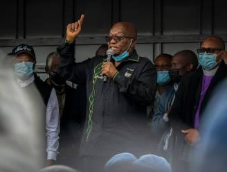 """Celstraf voormalige Zuid-Afrikaanse president Jacob Zuma uitgesteld: """"Niet nodig dat ik gevangenis in ga"""""""