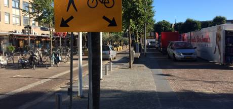 D66 en PvdA willen oplossing voor onveilige situatie Markt Uden