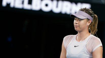 Kerber wint titanenstrijd tegen Sharapova met de vingers in de neus