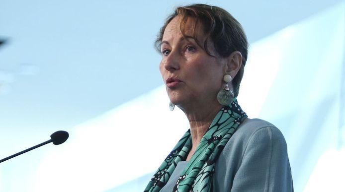 De Franse minister van Milieu Ségolène Royal.