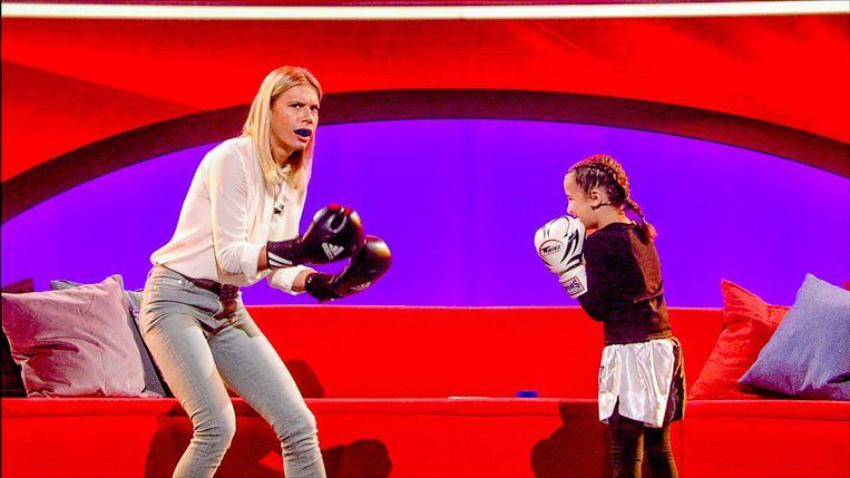 Nathalie Meskens neemt de handschoen op tegen Dounia.