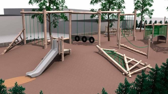 Natuurlijke speeltuin aan Ontmoetingscentrum moet speelklaar zijn tegen de zomer