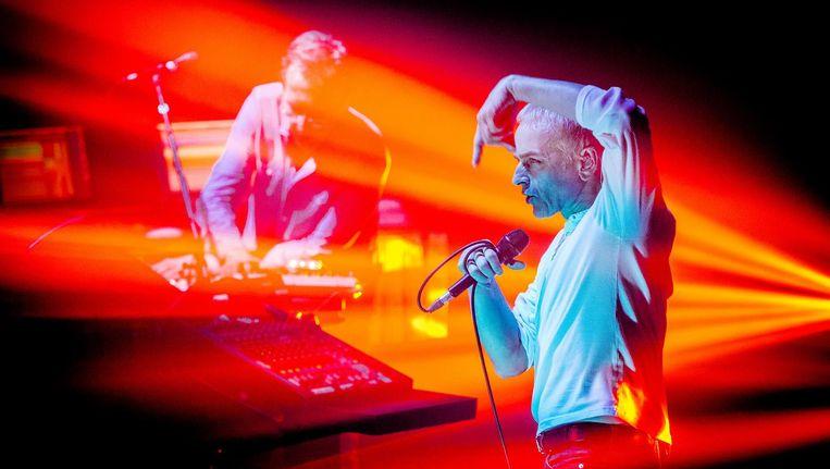 Het duo vind kleine optredens fantastisch. 'We willen het gewoon weer doen.' Beeld anp