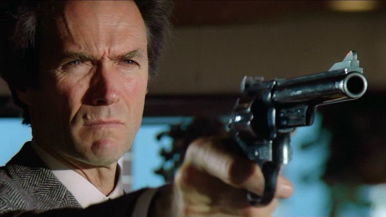 Clint Eastwood in Sudden Impact. Beeld
