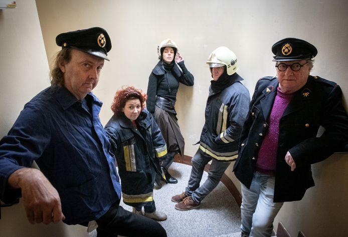 Arne Sierens maakte het toneelstuk 'Alles in brand', een van de publiekstrekkers van Noeveren Brandt!