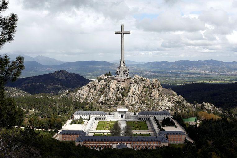 De Valle de los Caídos of Vallei der Gevallenen. Beeld REUTERS