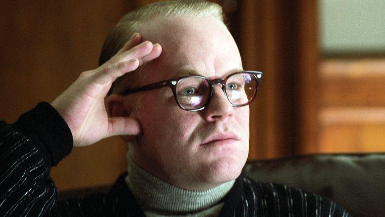 Philip Seymour Hoffman in de film 'Capote.' Beeld AP