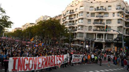 LIVE. Duizenden Catalanen opnieuw de straat op na veroordeling politici