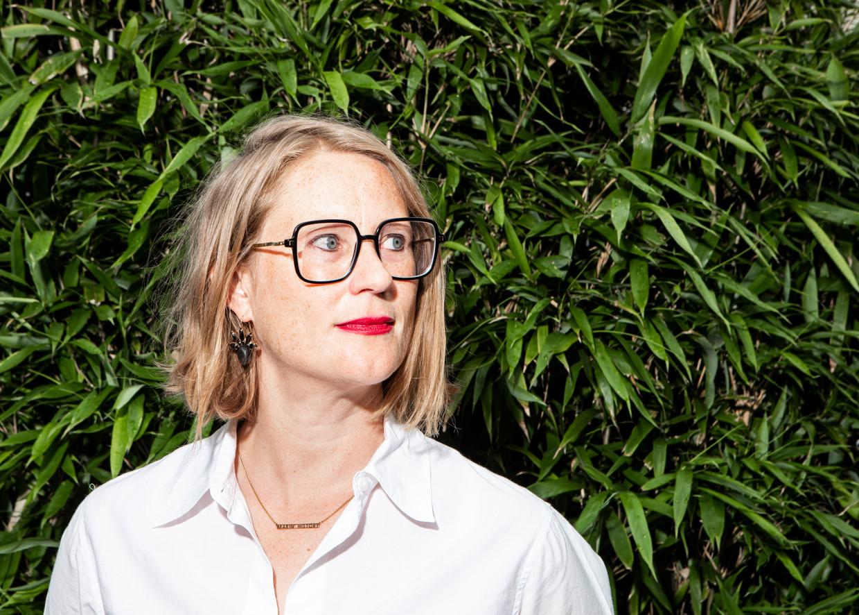 Annelien De Dijn: 'De vraag die we volgens mij moeten stellen over de coronamaatregelen, is: hebben die een democratisch draagvlak?' Beeld Hilde Harshagen