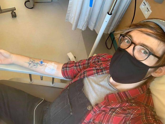 Eric de Charleroi doit régulièrement se rendre à l'hôpital