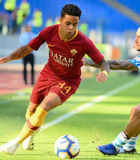 Kluivert tegenover Dijks bij AS Roma - Bologna