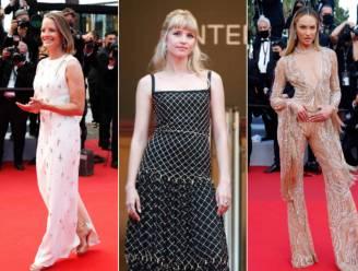 IN BEELD. Glamour, maar vooral veel glitter op de rode loper van Cannes