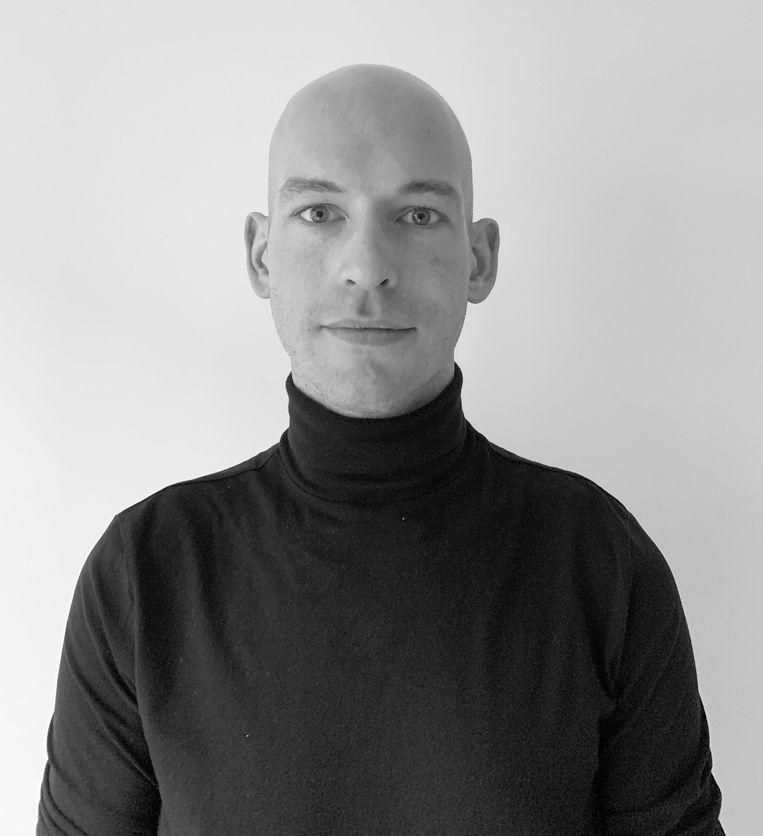 Wouter Maas, kunsthistoricus. Beeld -
