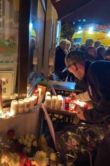 """Environ 300 personnes devant le café où deux hommes ont perdu la vie à Eupen: """"Malheureusement, il y a déjà eu des lacunes dans l'enquête"""""""