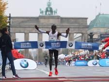 Eliud Kipchoge wint marathon van Berlijn