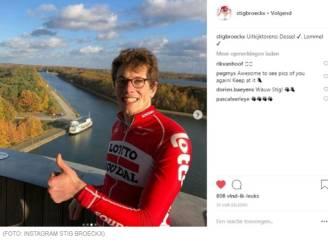 """Stig Broeckx reageert na eerste fietstocht sinds ongeval: """"De volgende keer rijd ik met mijn koersfiets"""""""