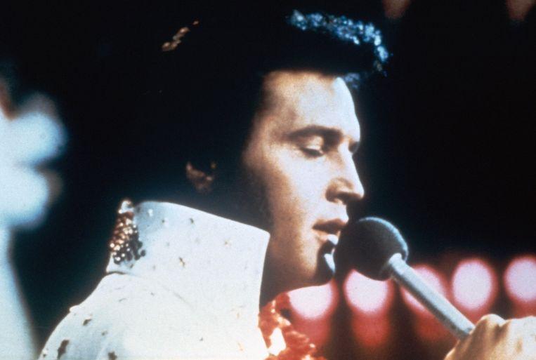 Canvas speelt vanavond de documentaire 'Elvis: The Searcher' over Elvis Presely. Beeld ANP Kippa