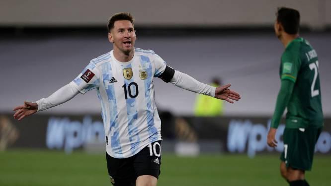 Magistrale Messi is na hattrick Pelé voorbij als topscorer Zuid-Amerika