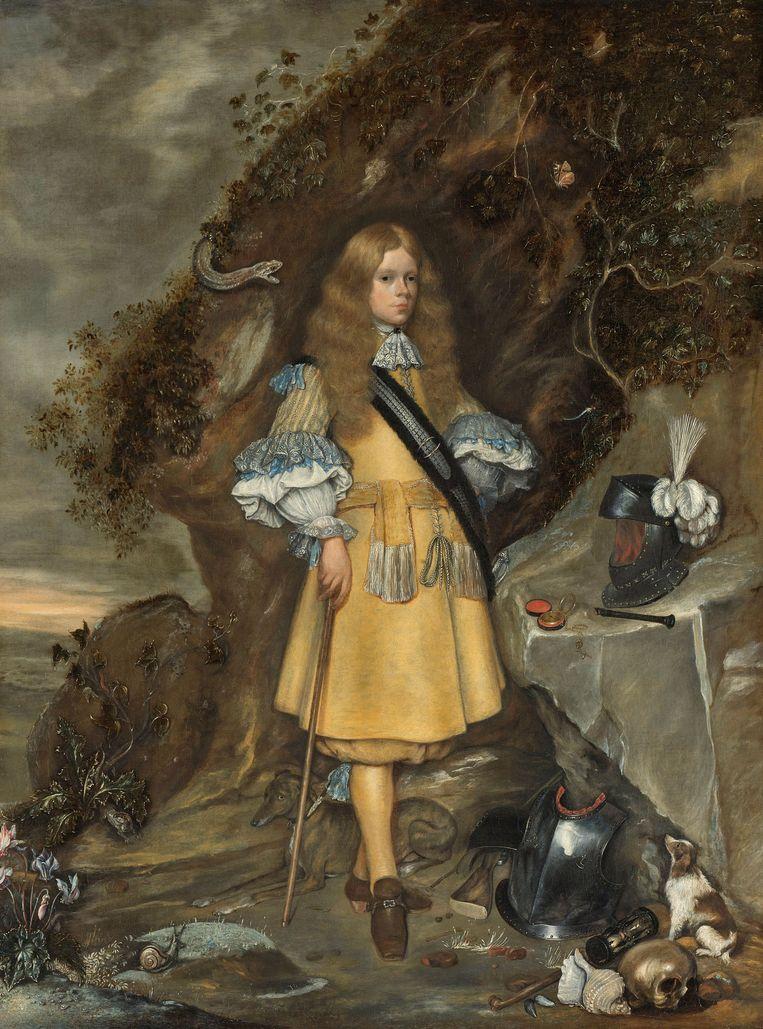 Memorieportret van Moses ter Borch, Gerard ter Borch (II), Gesina ter Borch, 1667 - 1669. Met dit schilderij herdachten de twee schilders hun jongste broer Moses. Hij sneuvelde in 1667 bij de bestorming van het Engelse fort Languard bij Felixstowe. Beeld Rijksmuseum Amsterdam