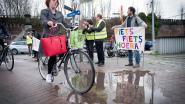 Applaus voor fietsers maakt iedereen blij