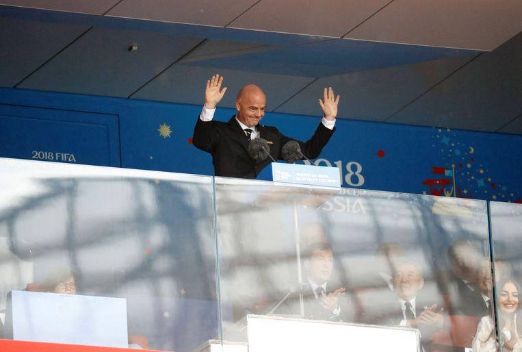 FIFA-voorzitter Gianni Infantino Beeld Photo News
