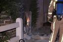 De opgeroepen brandweer had de situatie snel onder controle.