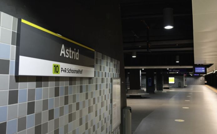Premetrostation Astrid