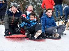Winterse zondag in regio Amersfoort: de code is rood maar de wereld is gelukkig wit