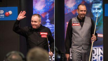 Duel tussen ouderdomsdekens in finale WK snooker: Williams of Higgins wordt oudste wereldkampioen sinds 1978