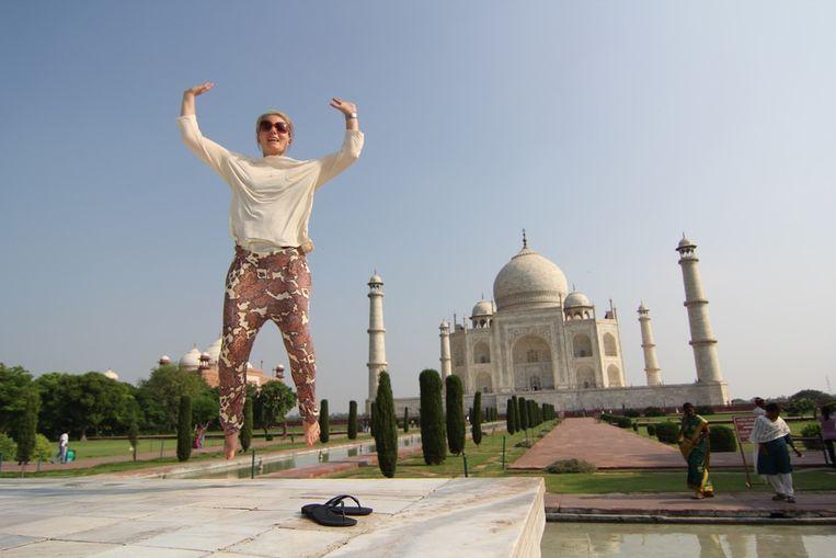 Trekpleister, Taj Mahal, Rianna van Hout juli 2012 Beeld null