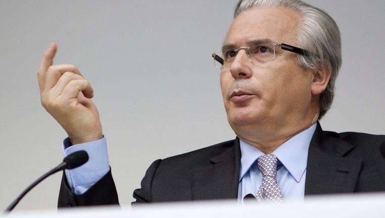 Baltasar Garzon werd wereldberoemd door zijn arrestatiebevel tegen de Chileense ex-president Pinochet. Beeld EPA