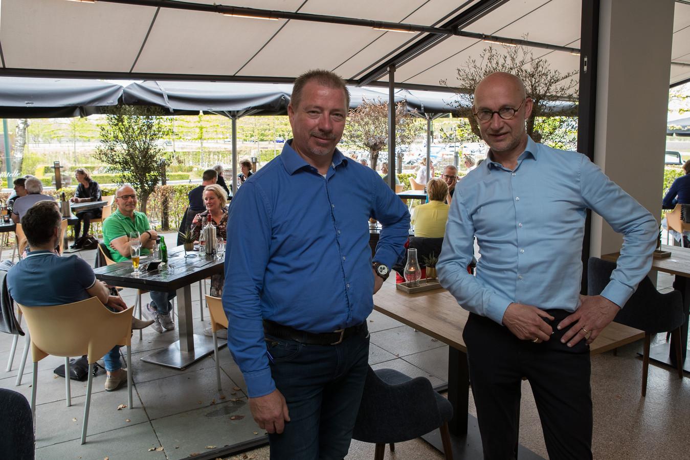 Trotse eigenaren van De Bagatelle Arno en Willy Huisken