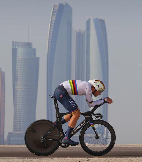 Filippo Ganna remporte la 2e étape de l'UAE Tour, Tadej Pogacar prend la tête du général