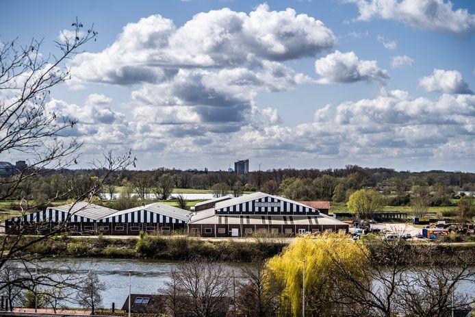 Blik op het bedrijventerrein in Meinerswijk.