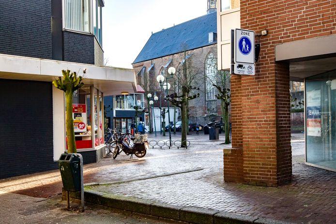 Het Broederenplein in Deventer, hier op archiefbeeld.