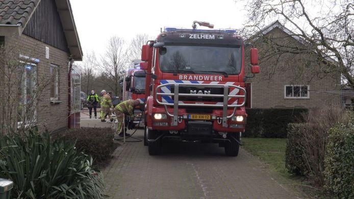 De brandweer rukte rond 14.18 uur uit naar het bedrijf aan de Verdelingsweg in Marienvelde.