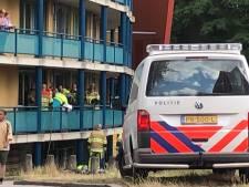 Man nog in ziekenhuis na brand in complex aan de Floraweg